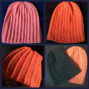 Bilateral Toque - Free Pattern for a Reversible Hat