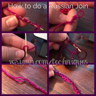 How to do a Russian Join